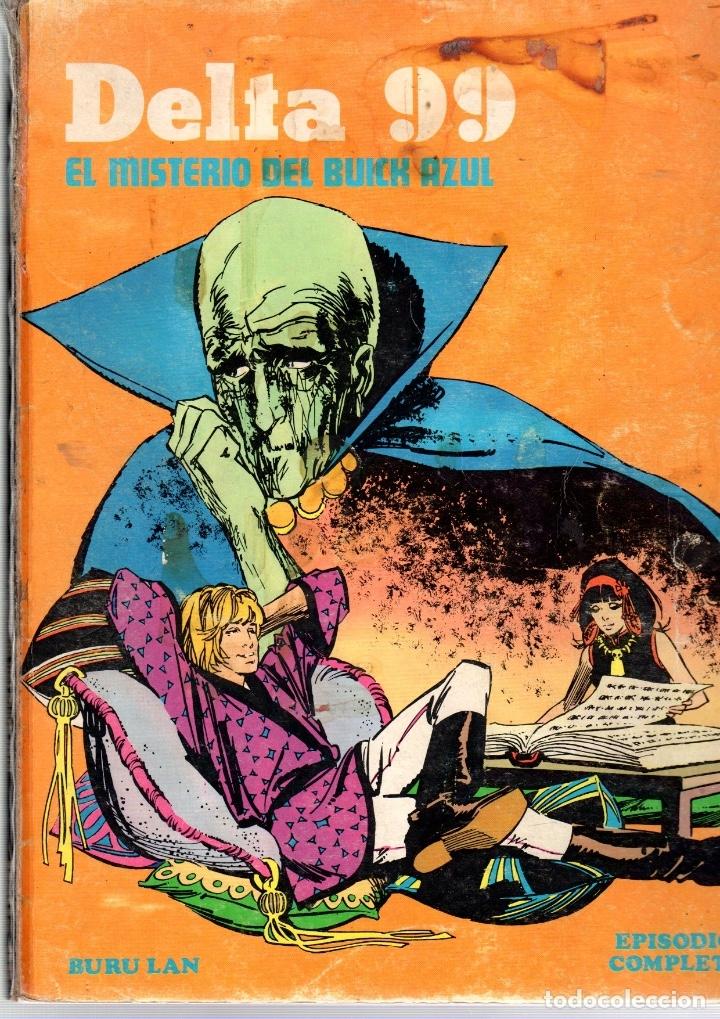DELTA 99. EL MISTERIO DEL BUICK AZUL. EPISODIOS COMPLETOS. BURU LAN (Tebeos y Comics - Buru-Lan - Otros)