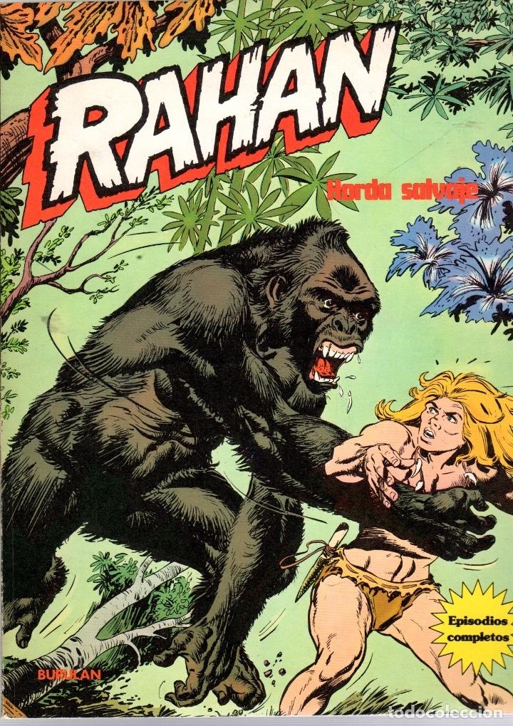 RAHAN. HORDA SALVAJE. EPISODIOS COMPLETOS. BURU LAN 1974 (Tebeos y Comics - Buru-Lan - Rahan)