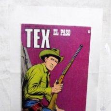 Cómics: TEX Nº 80 EL PASO. Lote 162965538