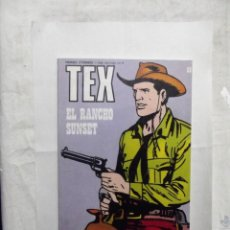 Cómics: TEX Nº 88 EL RANCHO SUNSET . Lote 162966054