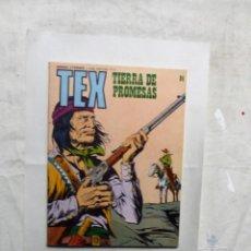 Cómics: TEX Nº 84 TIERRA DE PROMESAS . Lote 162966222