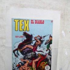 Cómics: TEX Nº 67 EL DIABLO . Lote 162966414