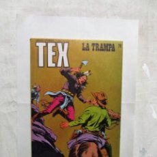 Cómics: TEX Nº 74 LA TRAMPA . Lote 162966578
