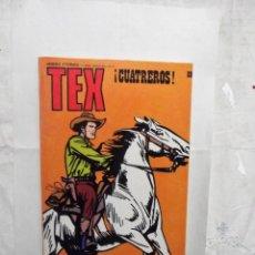 Cómics: TEX Nº 89 ¡ CUATREROS !. Lote 162966790