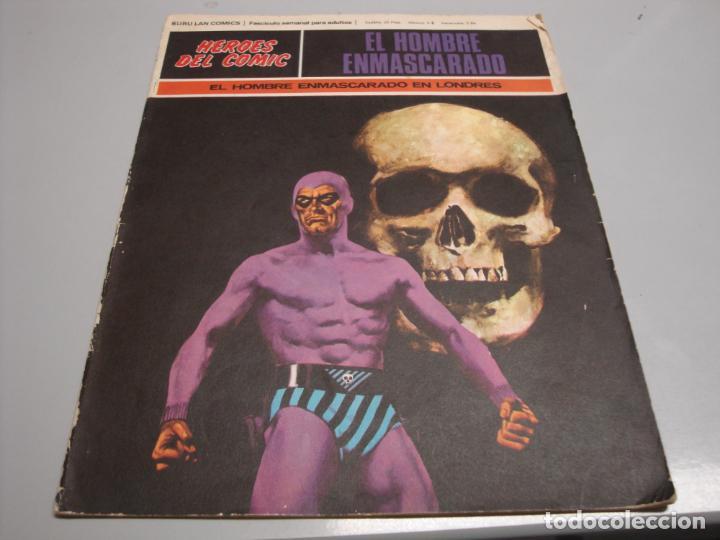 HEROES DEL COMIC, HOMBRE ENMASCARADO Nº 1, EDITORIAL BURULAN (Tebeos y Comics - Buru-Lan - Hombre Enmascarado)