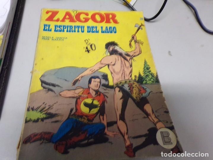 ZAGOR EL ESPÍRITU DEL LAGO NUMERO 29 (Tebeos y Comics - Buru-Lan - Zagor)