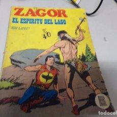 Cómics: ZAGOR EL ESPÍRITU DEL LAGO NUMERO 29. Lote 163769234