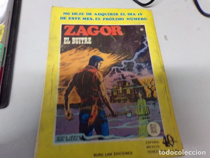 Cómics: zagor el espíritu del lago numero 29 - Foto 3 - 163769234