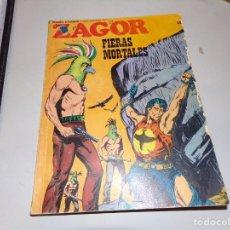 Cómics: ZAGOR FIERAS MORTALES NUMERO 58. Lote 163772994