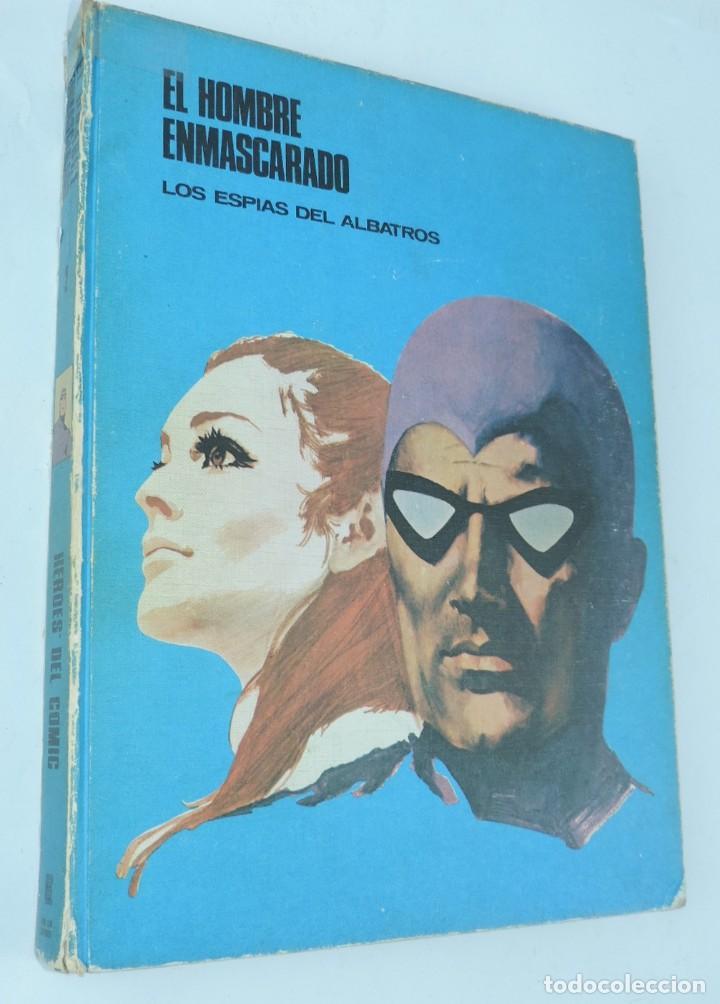 EL HOMBRE ENMASCARADO TOMO 2 - LOS ESPÍAS DEL ALBATROS - BURU LAN 1971 BUEN ESTADO, CON ALGÚN ROCE (Tebeos y Comics - Buru-Lan - Hombre Enmascarado)