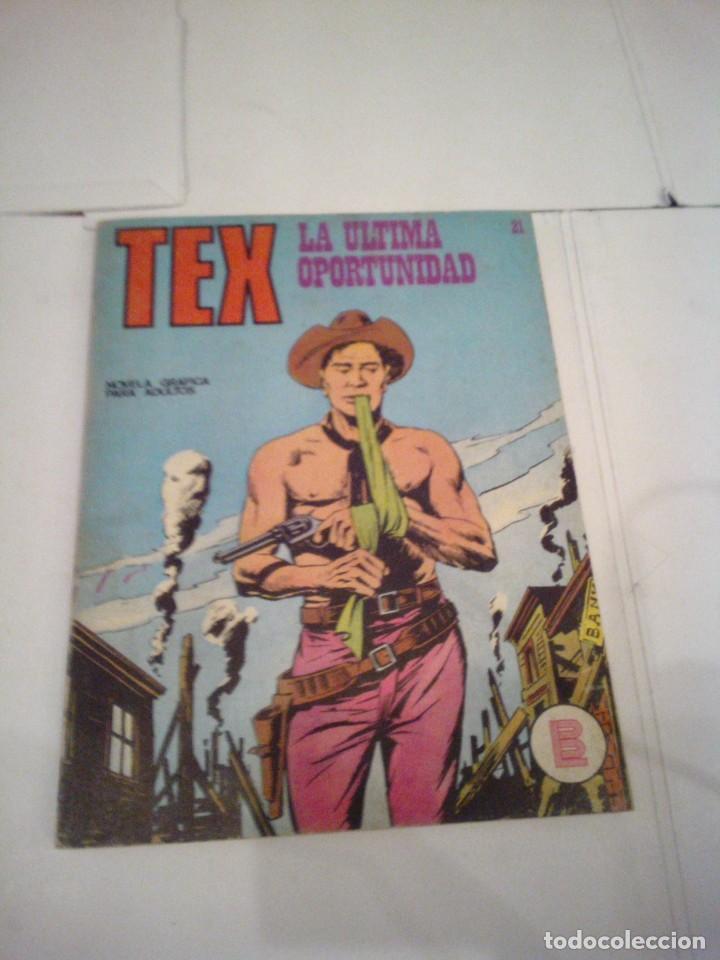 TEX - BURU LAN - NUMERO 21 - LA ULTIMA OPORTUNIDAD - CJ 105 - GORBAUD (Tebeos y Comics - Buru-Lan - Tex)