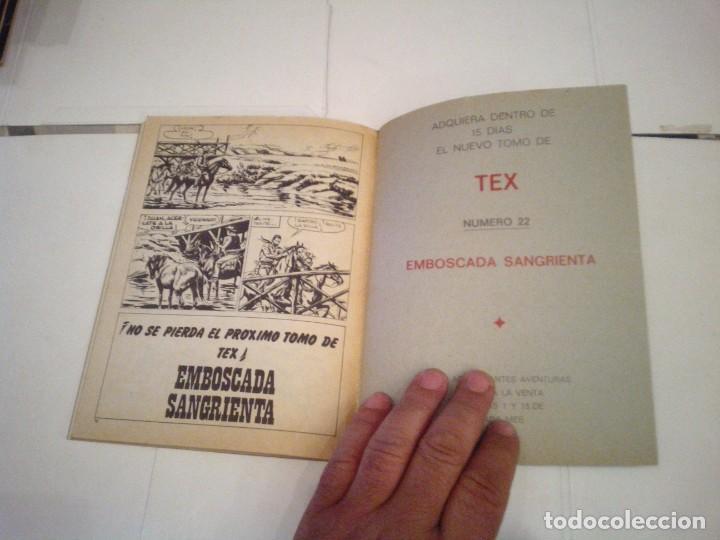 Cómics: TEX - BURU LAN - NUMERO 21 - LA ULTIMA OPORTUNIDAD - CJ 105 - GORBAUD - Foto 4 - 164065318
