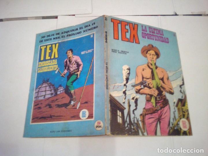 Cómics: TEX - BURU LAN - NUMERO 21 - LA ULTIMA OPORTUNIDAD - CJ 105 - GORBAUD - Foto 5 - 164065318