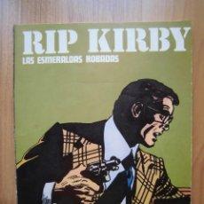 Cómics: RIP KIRBY LAS ESMERALDAS ROBADAS BURULAN 1974. Lote 164871170