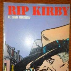 Cómics: EL CASO FARADAY. RIP KIRBY. BURULAN EDICIONES, AÑO 1974.. Lote 165022950