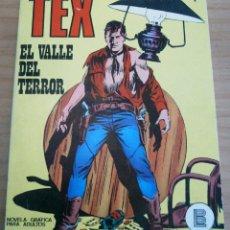 Cómics: TEX - NÚMERO 1: EL VALLE DEL TERROR - AÑO 1971. Lote 165091450