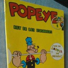 Cómics: POPEYE REY DE LAS ESPINACAS 1 BURU LAN BURULAN 1970 SIN CARTEL. Lote 165139902