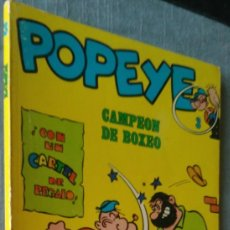 Cómics: POPEYE CAMPEÓN DE BOXEO 3 BURU LAN BURULAN 1971 SIN CARTEL. Lote 165140038