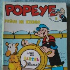 Cómics: POPEYE PUÑOS DE HIERRO 5 BURU LAN BURULAN 1971 SIN CARTEL. Lote 165140142
