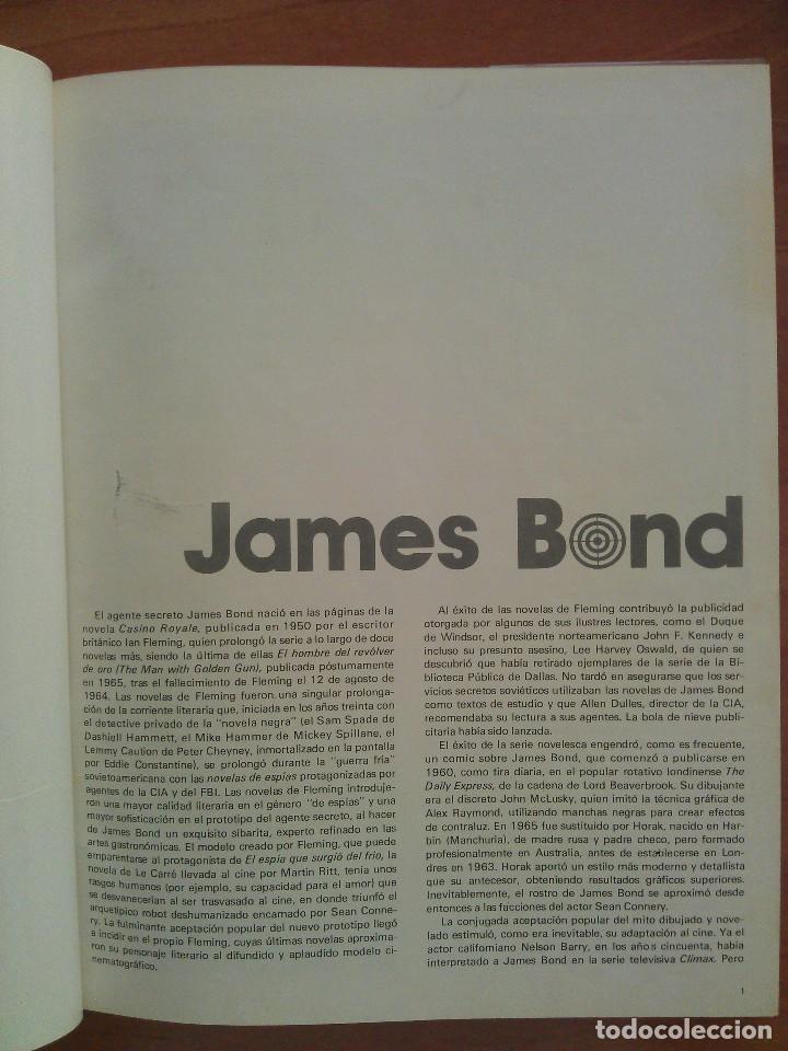 Cómics: 1974 JAMES BOND TOMO I - CUATRO EPISODIOS A TODO COLOR - Foto 3 - 166407626