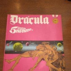 Comics : DRÁCULA. DELTA 99. TOMO 2. BURU LAN. 5 POR INFINITO. 1972. SAN SEBASTIÁN.. Lote 166676302