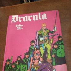 Comics : DRÁCULA. DELTA 99. TOMO 4. BURU LAN. 5 POR INFINITO. 1972. SAN SEBASTIÁN.. Lote 166677237