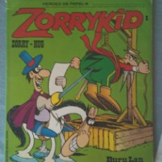 Cómics: ZORRYKID 1 HÉROES DE PAPEL 8 BURULAN JACOVITTI 1973 BURU LAN. Lote 166694606