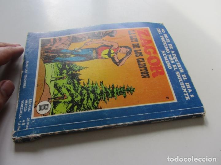 Cómics: ZAGOR Nº 30 EDITORIAL BURULAN 1972 et - Foto 2 - 166831454