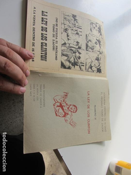 Cómics: ZAGOR Nº 30 EDITORIAL BURULAN 1972 et - Foto 3 - 166831454