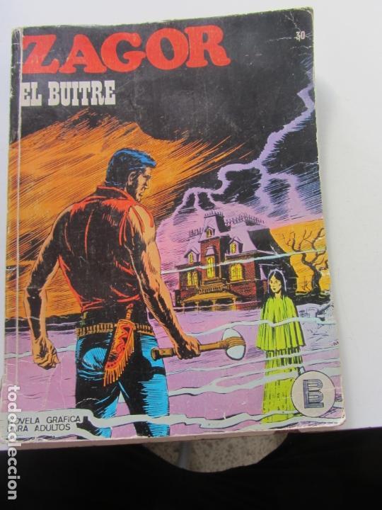 ZAGOR Nº 30 EDITORIAL BURULAN 1972 ET (Tebeos y Comics - Buru-Lan - Zagor)