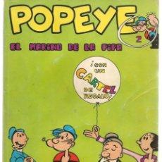 Cómics: POPEYE. Nº 2. EL MARINO DE LA PIPA. BURU LAN. (ST/MG). Lote 167106884