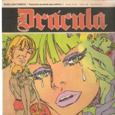Comics: DRÁCULA. DELTA 99. FASCÍCULO Nº 38. LAS PALOMAS DE LA LOCURA. BURU LAN. (ST/MG). Lote 167109648