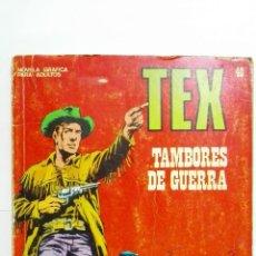 Cómics: TEX Nº 40, TAMBORES DE GUERRA, EDICIONES BURU-LAN, 1971. Lote 167469900