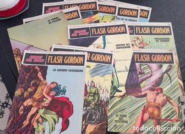 FLASH GORDON BURU LAN - 01 A 011 HEROES DEL COMIC 1.972 (Tebeos y Comics - Buru-Lan - Flash Gordon)