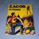 Cómics: ZAGOR Nº 54 LOS VENGADORES COMPLETO EN MUY BUEN ESTADO ORIGINAL AÑO 1973 VER FOTO Y DESCRIPCION. Lote 168096664