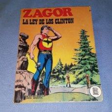 Comics : ZAGOR Nº 31 LA LEY DE LOS VENGA COMPLETO EN MUY BUEN ESTADO ORIGINAL AÑO 1972 VER FOTO Y DESCRIPCION. Lote 168097040