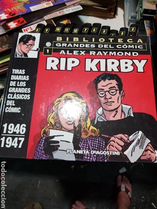 RIP KIRBY (BIBLIOTECA GRANDES DEL CÓMIC) - PLANETA-DEAGOSTINI / COLECCIÓN COMPLETA (12 TOMOS) (Tebeos y Comics - Buru-Lan - Rip Kirby)