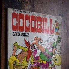 Cómics: COCOBILL, OJO DE POLLO, BURU LAN, 1973. Lote 203287135