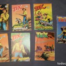 Cómics: LOTE 7 COMICS TEX EDICIONES ZINCO. Lote 168620404
