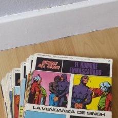 Fumetti: LOTE DE 94 PORTADAS EL HOMBRE ENMASCARADO - BURU LAN COMICS - LEER ESPECIFICACIONES. Lote 168804020