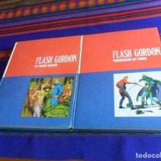 Cómics: FLASH GORDON TOMO 1 PRISIONERO DE MING Y 2 LA REINA DESIRA. BURU LAN AÑOS 70.. Lote 168894632