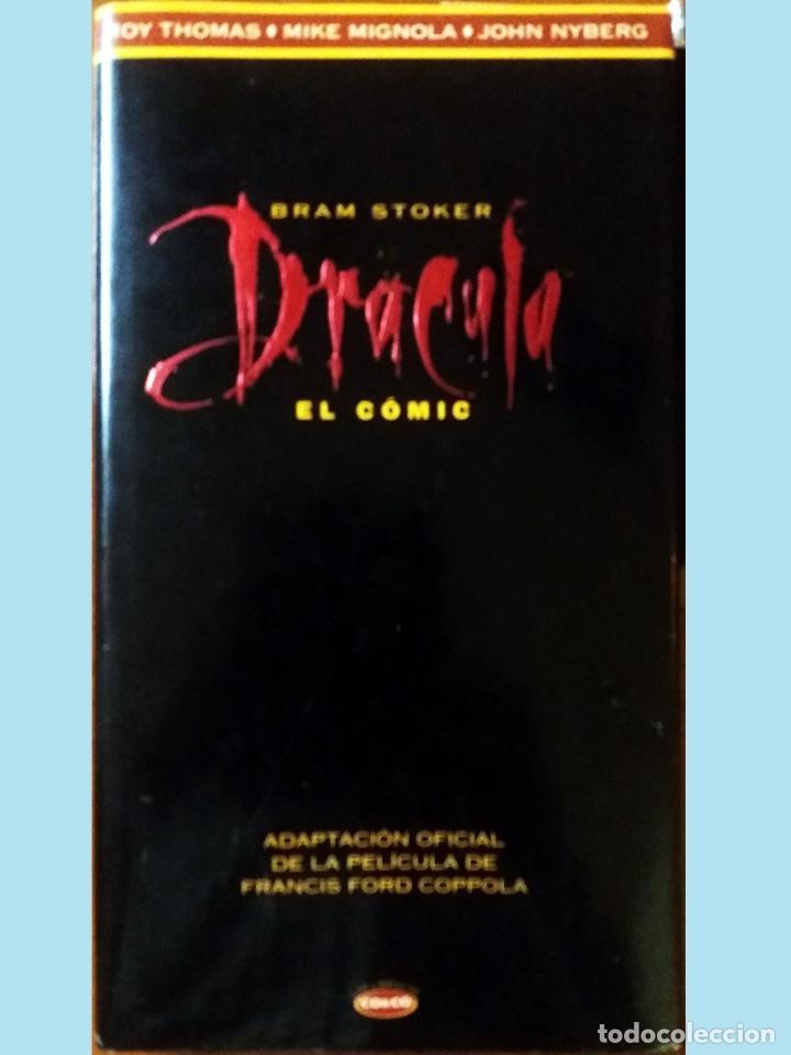 LIBRO DRACULA EL COMIC POR BRAM STOKER.ADAPTACION OFICIAL DE LA PELÍCULA FRANCIS FORD COPOLA, 1º EDI (Tebeos y Comics - Buru-Lan - Drácula)