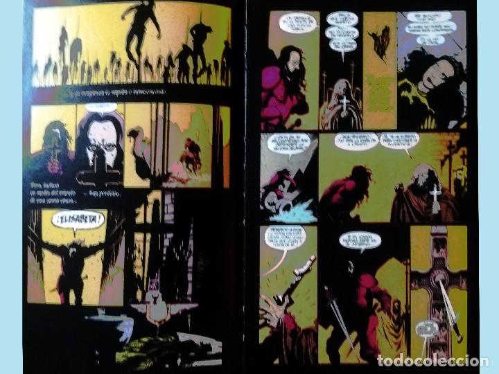 Cómics: LIBRO DRACULA EL COMIC POR BRAM STOKER.Adaptacion oficial de la película FRANCIS FORD COPOLA, 1º Edi - Foto 3 - 169123340