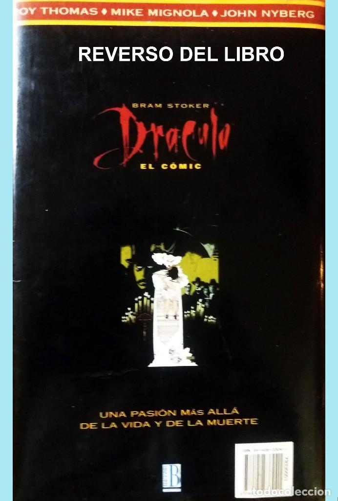 Cómics: LIBRO DRACULA EL COMIC POR BRAM STOKER.Adaptacion oficial de la película FRANCIS FORD COPOLA, 1º Edi - Foto 4 - 169123340