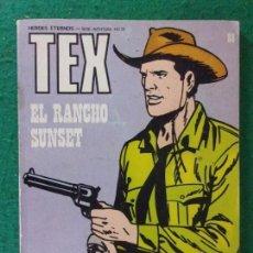Cómics: TEX. EL RANCHO SUNSET / Nº 39 / BURULAN EDICIONES. 1973. Lote 169598196