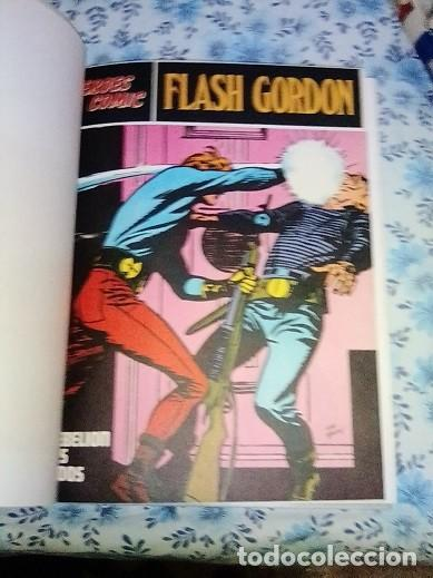 Cómics: Héroes del cómic,8 tomos Flash Gordon, Buru Lan , ilustrado: Alex Raymond , Austin Briggs, Dan Barry - Foto 8 - 169923084