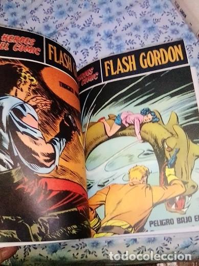Cómics: Héroes del cómic,8 tomos Flash Gordon, Buru Lan , ilustrado: Alex Raymond , Austin Briggs, Dan Barry - Foto 10 - 169923084