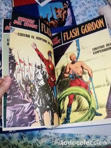 Cómics: Héroes del cómic,8 tomos Flash Gordon, Buru Lan , ilustrado: Alex Raymond , Austin Briggs, Dan Barry - Foto 23 - 169923084