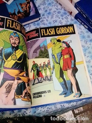 Cómics: Héroes del cómic,8 tomos Flash Gordon, Buru Lan , ilustrado: Alex Raymond , Austin Briggs, Dan Barry - Foto 30 - 169923084