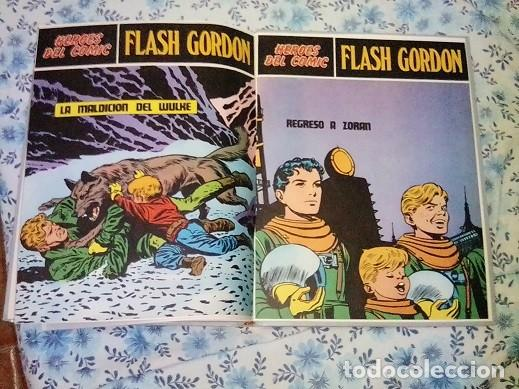 Cómics: Héroes del cómic,8 tomos Flash Gordon, Buru Lan , ilustrado: Alex Raymond , Austin Briggs, Dan Barry - Foto 56 - 169923084